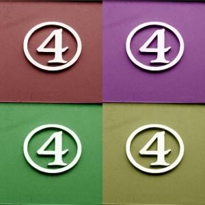 4 image tiled