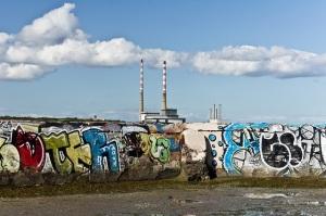 Graffiti at Sandymount