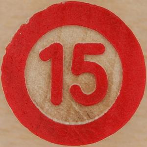 number 15