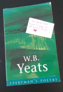 WB Yeats book