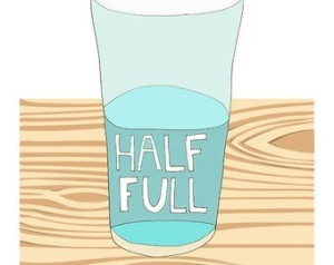 Half Full illustration